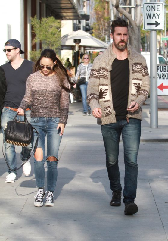 Cara Santana Street Style - Out in Beverly Hills, January 2016