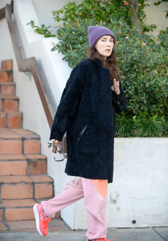 Carice van Houten Street Style - Leaves House in West Hollywood 2/17/2016