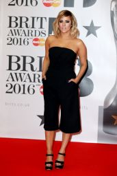 Caroline Flack – BRIT Awards 2016 in London, UK