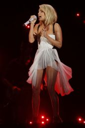 Carrie Underwood Performs at Grammy Awards 2016 in Los Angeles, CA