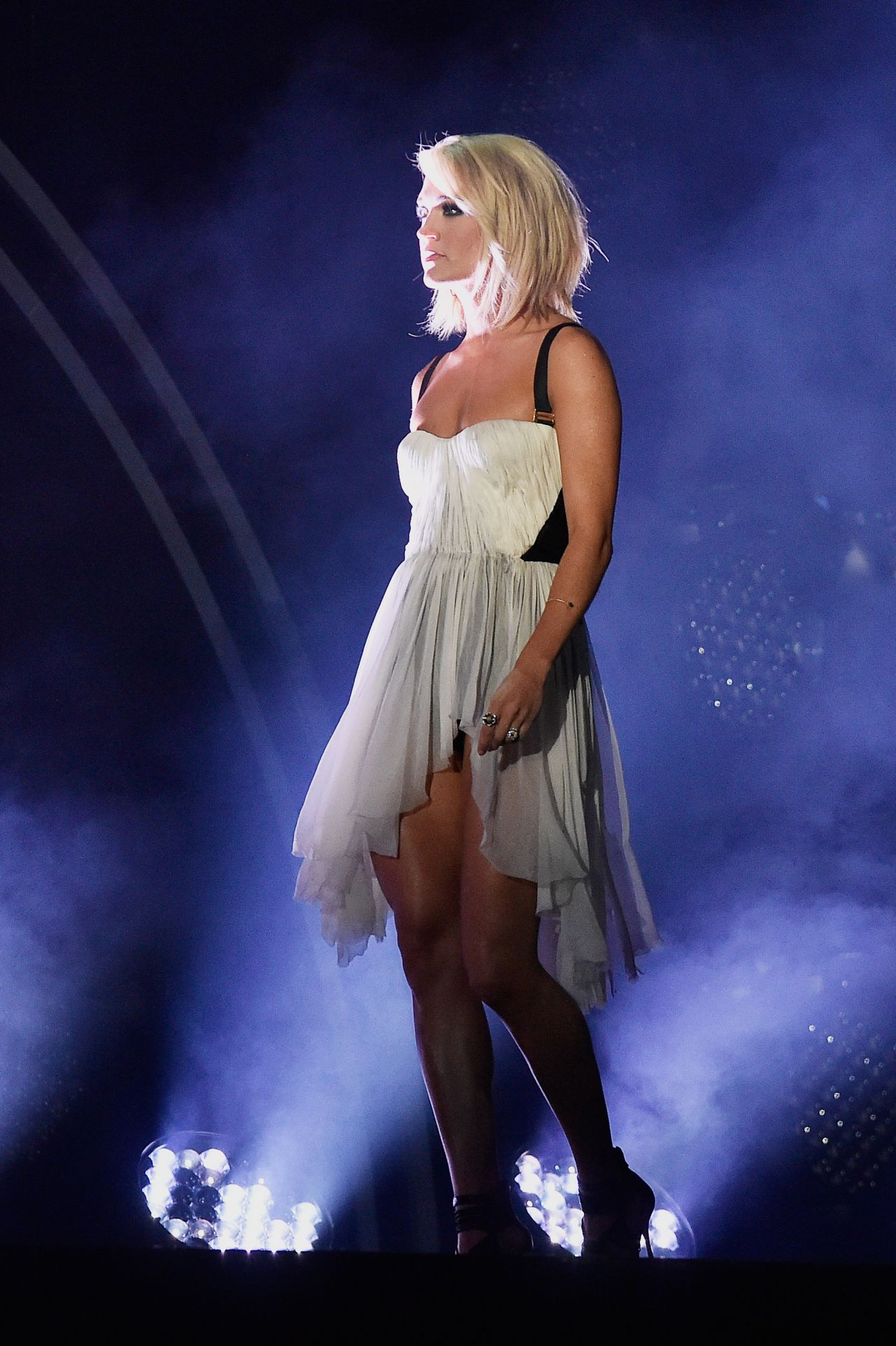 Carrie Underwood Performs At Grammy Awards 2016 In Los