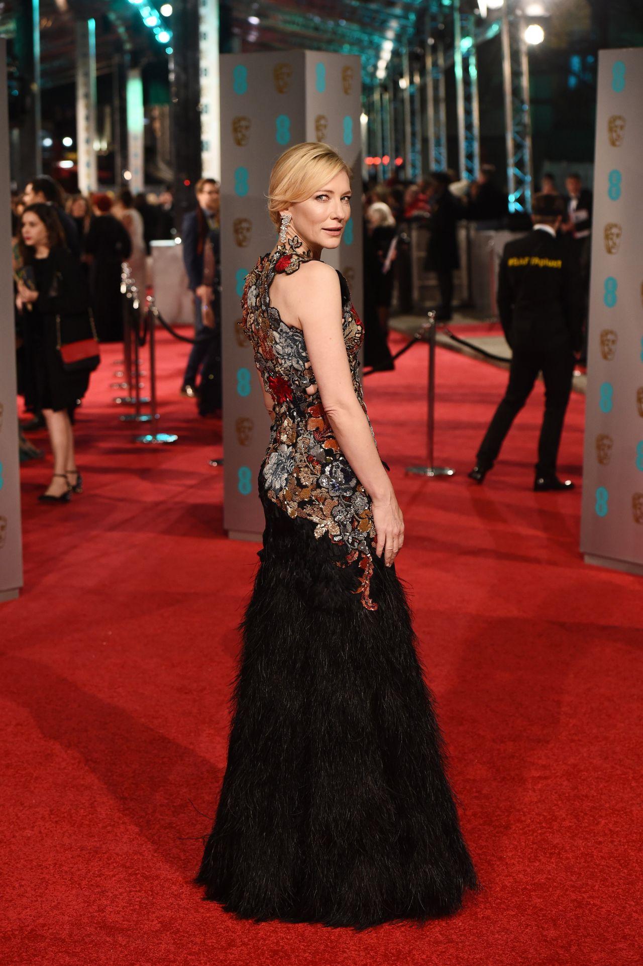 Cate Blanchett – BAFTA Film Awards 2016 in London Cate Blanchett 2016