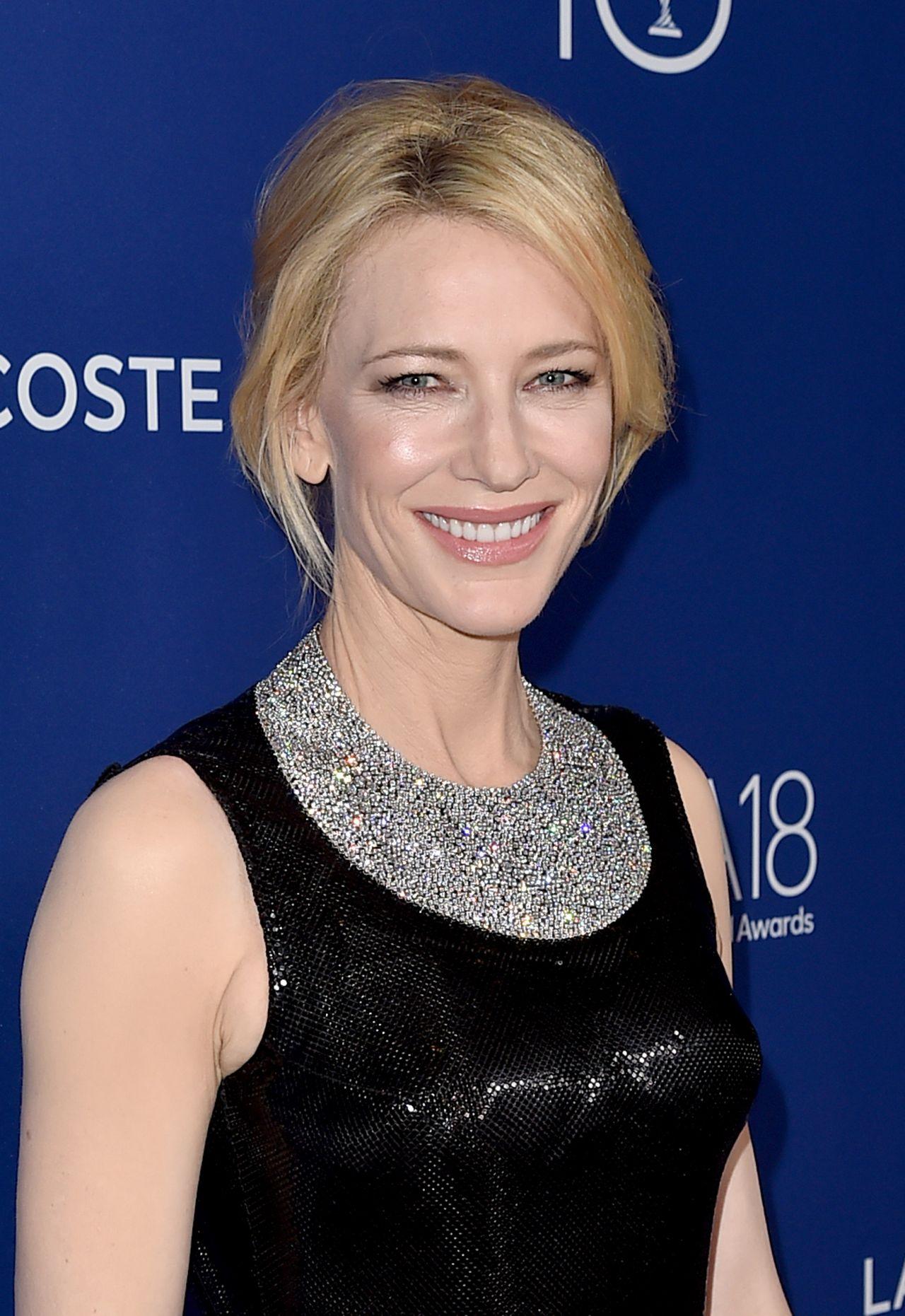 Cate Blanchett - Costume Designers Guild Awards 2016 in ... Cate Blanchett