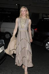 Cate Blanchett - Pre-Bafta Party at Little House Restaurant in London, February 2016