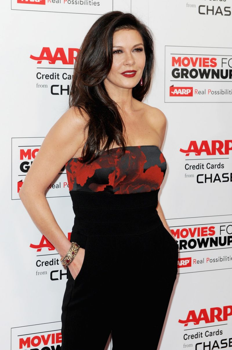 Catherine Zeta-Jones - 2016 AARP Movies For Grownups Awards in Beverly ...