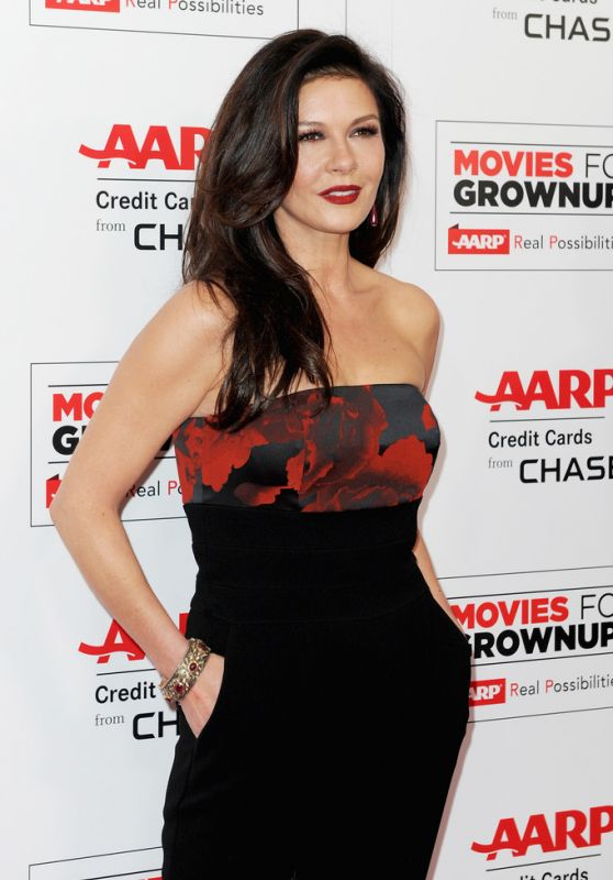 Catherine Zeta-Jones - 2016 AARP Movies For Grownups Awards in Beverly Hills
