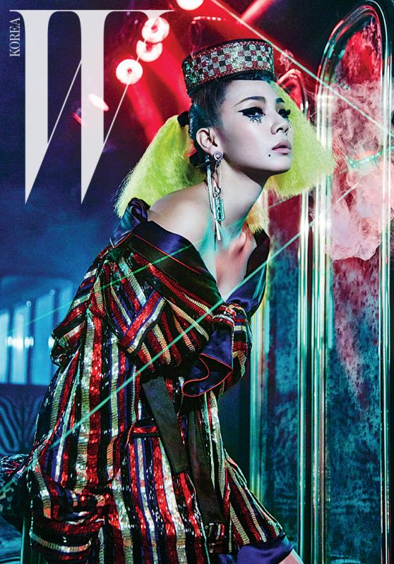 Chaelin Lee - W Magazine Korea March 2016