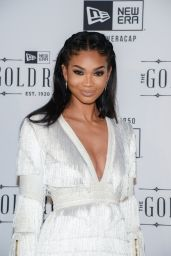 Chanel Iman - New Era Style Lounge in San Francisco 2/6/2016