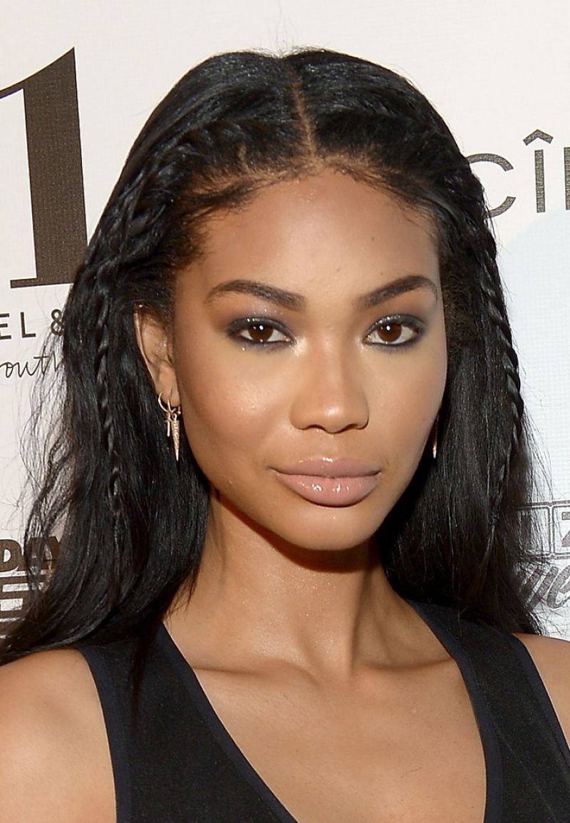 naked Chanel Iman (11 images) Young, Instagram, in bikini