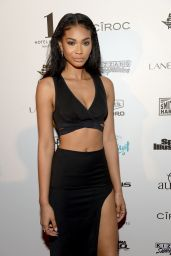 Chanel Iman – SI Swimsuit 2016 Swim BBQ VIP in Miami 2/17/2016