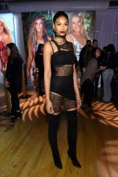 Chanel Iman - Sports Illustrated Swimsuit 2016 - Swim City in New York City 2/15/2016