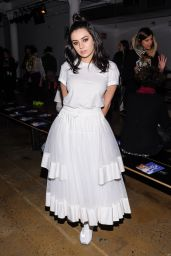 Charli XCX - Adam Selman Fashion Show at NYFW 2/11/2016