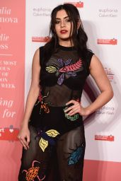 Charli XCX on Red Carpet - The Naked Heart Foundation