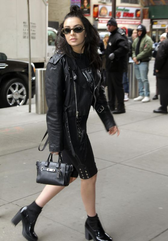 Charli XCX - Yeezy Fashion Show at NYFW 2/11/2016