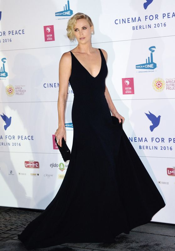 Charlize Theron - Cinema for Peace at the Konzerthaus in Berlin 2/15/2016