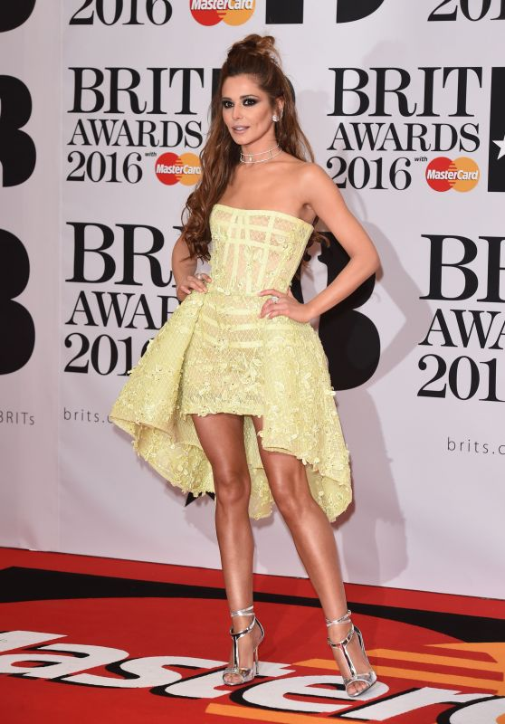 Cheryl Fernandez-Versini - BRIT Awards 2016 in London, UK