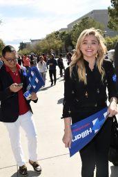 Chloë Grace Moretz - Campaigns For Hillary Clinton in Las Vegas 2/18/2016