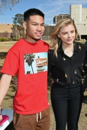 Chloë Grace Moretz - Campaigns For Hillary Clinton in Las Vegas 2/18/2016
