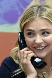 Chloë Grace Moretz - Campaigns For Hillary Clinton, Las Vegas 2/19/2016