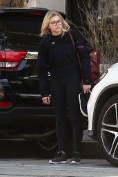 Chloë Grace Moretz Street Style - Walking Around in Beverly Hills 2/15/2016