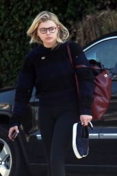 Chloë Grace Moretz Street Style - Walking Around in Beverly Hills 2/15/2016