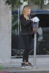 Chloë Moretz in Tights - Leaving Pilates Class in West Hollywood, CA 2/25/2016