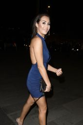 Chloe Goodman Night Out Style - Australasia Restaurant in Manchester, February 2016