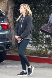 Chloe Moretz - Out For Breakfast in Los Angeles 1/30/2016
