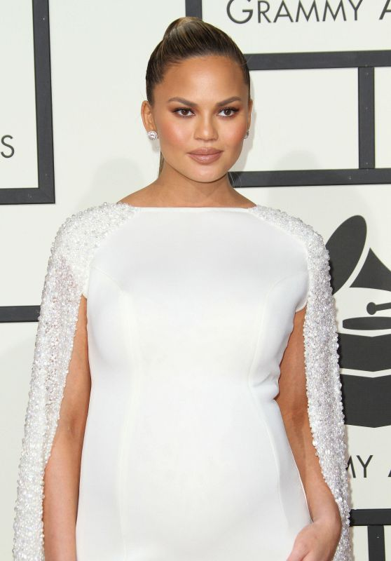 Chrissy Teigen – 2016 Grammy Awards in Los Angeles, CA