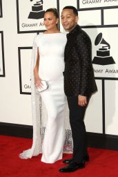 Chrissy Teigen – 2016 Grammy Awards in Los Angeles, CA