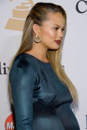 Chrissy Teigen - 2016 Pre-GRAMMY Gala in Beverly Hills, CA