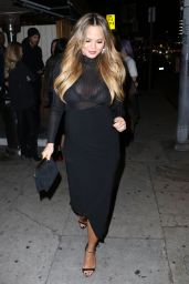Chrissy Teigen - Leaves The Nice Guy Club in Los Angeles, January 2016