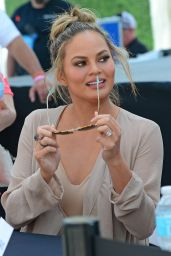 Chrissy Teigen – Sports Illustrated Swimsuit 2016 Event in Miami, FL 2/18/2016