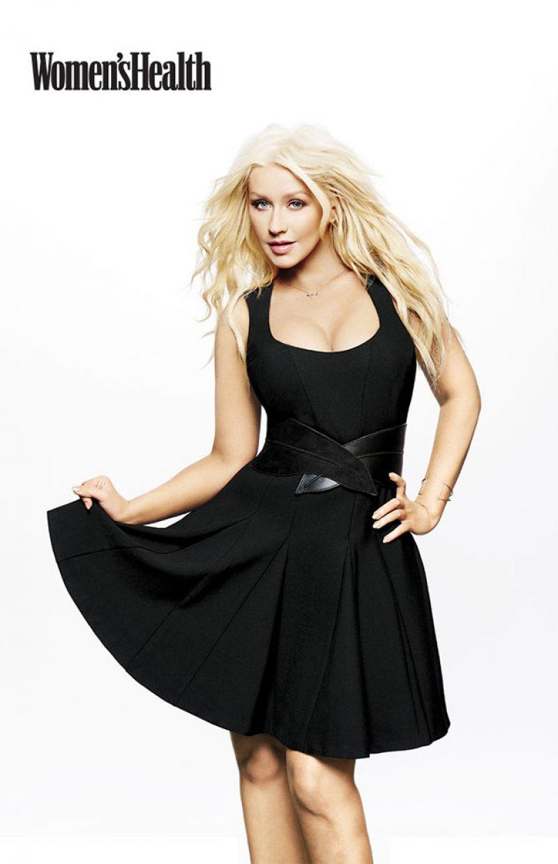 Christina Aguilera Womens Health Magazine March 2016 Issue