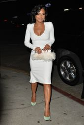 Christina Milian - Leaves The Nice Guy in Los Angeles 2/8/2016