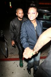 Christina Milian Night Out - at The Nice Guy in West Hollywood, January 2016
