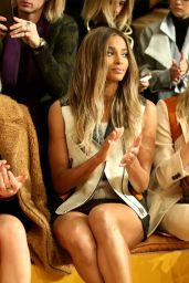 Ciara - Coach Show - New York Fashion Week 2/16/2016