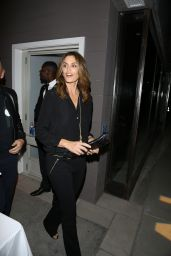 Cindy Crawford Night Out Style - at the Nine Zero One Salon Opening in Los Angeles, February 2016