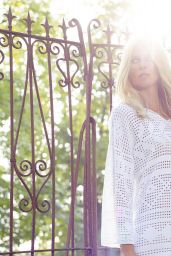 Claudia Schiffer - TSE Cashmere Spring/Summer 2016 Photoshoot