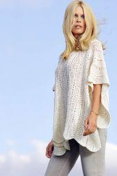 Claudia Schiffer - TSE Cashmere Spring/Summer 2016 Photoshoot