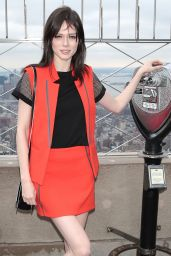 Coco Rocha - Empire State Building 2/17/2016