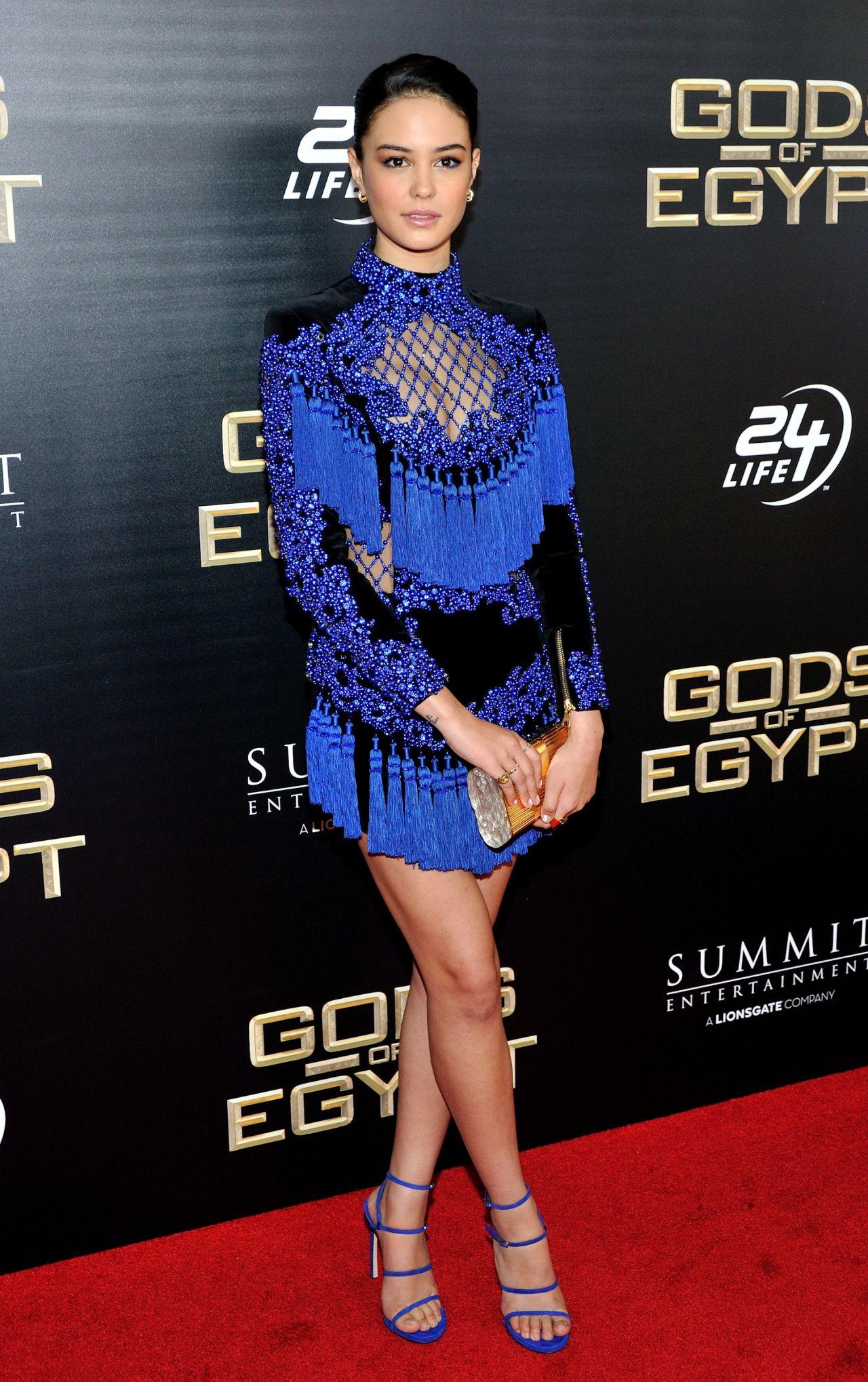 Courtney Eaton Gods Of Egypt Premiere In New York City Ny