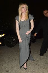 Courtney Love – Leaves a Pre Oscar Talent Agency Party in Los Angeles, CA 2/26/2016