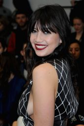 Daisy Lowe - Ashley Williams Fashion Show - London Fashion Week 2/23/2016