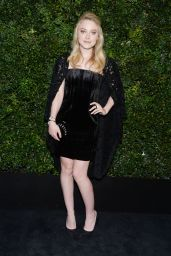 Dakota Fanning - Chanel and Charles Finch Oscar Party in Los Angeles, CA 2/27/2016