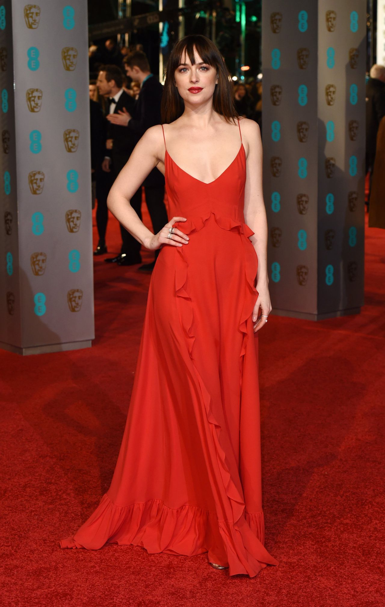 Dakota Johnson Bafta Film Awards 2016 In London
