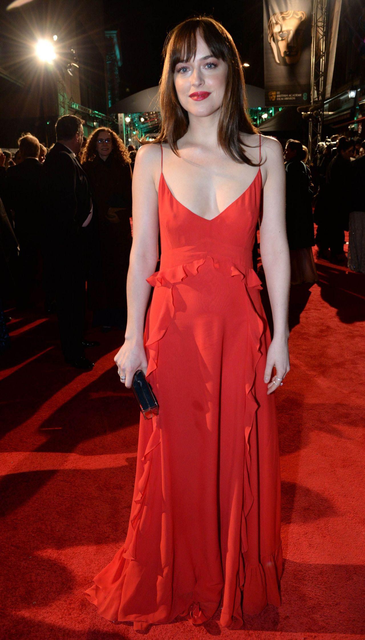 dakota johnson � bafta film awards 2016 in london