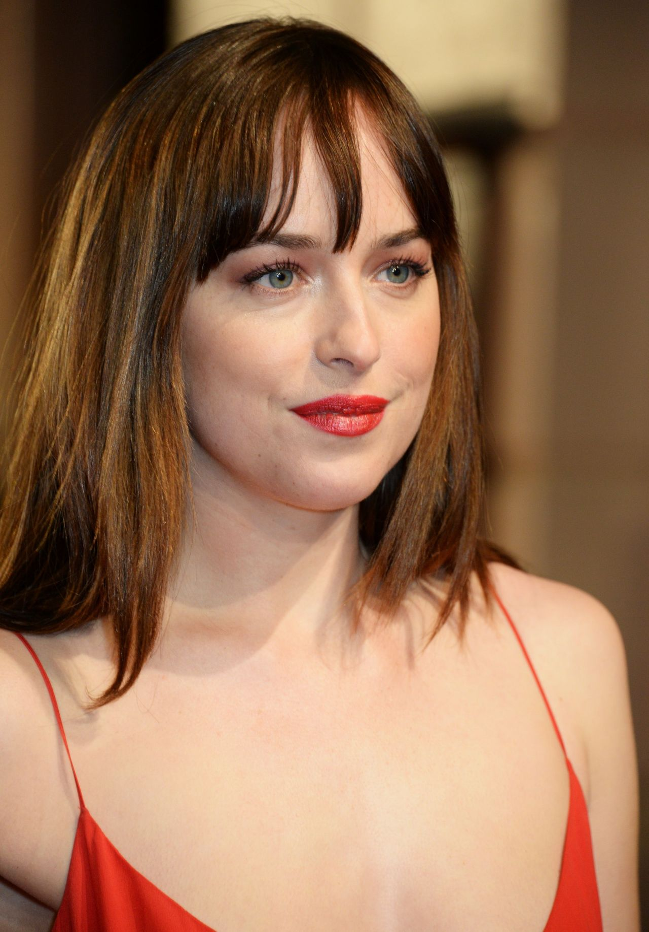 Dakota Johnson Bafta Film Awards 2016 In London