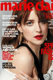 Dakota Johnson - Marie Claire Magazine March 2016 Cover and Pics