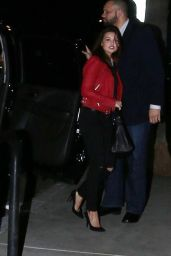 Danielle Campbell Night Out Style - LA, February 2016